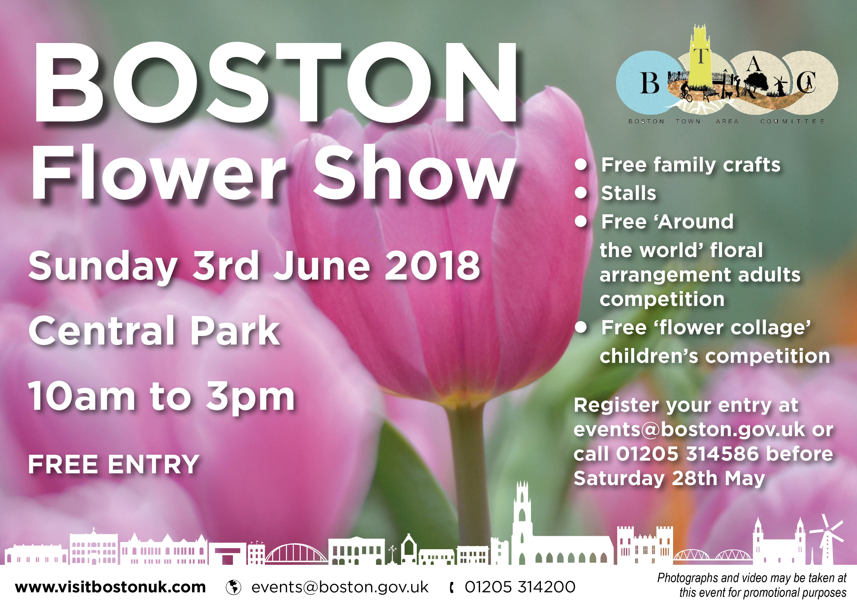 New Flower Show comes to town for first time
